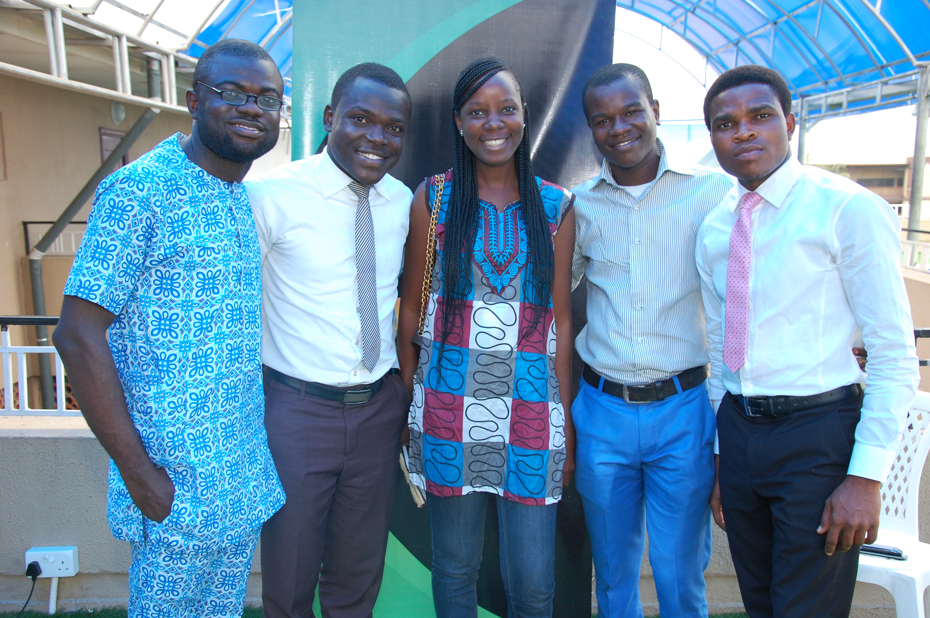 Ade Olorunjoba, Joshua oyeniyi,Ese Odiete & other guests at The Lagos TownHall Meeting