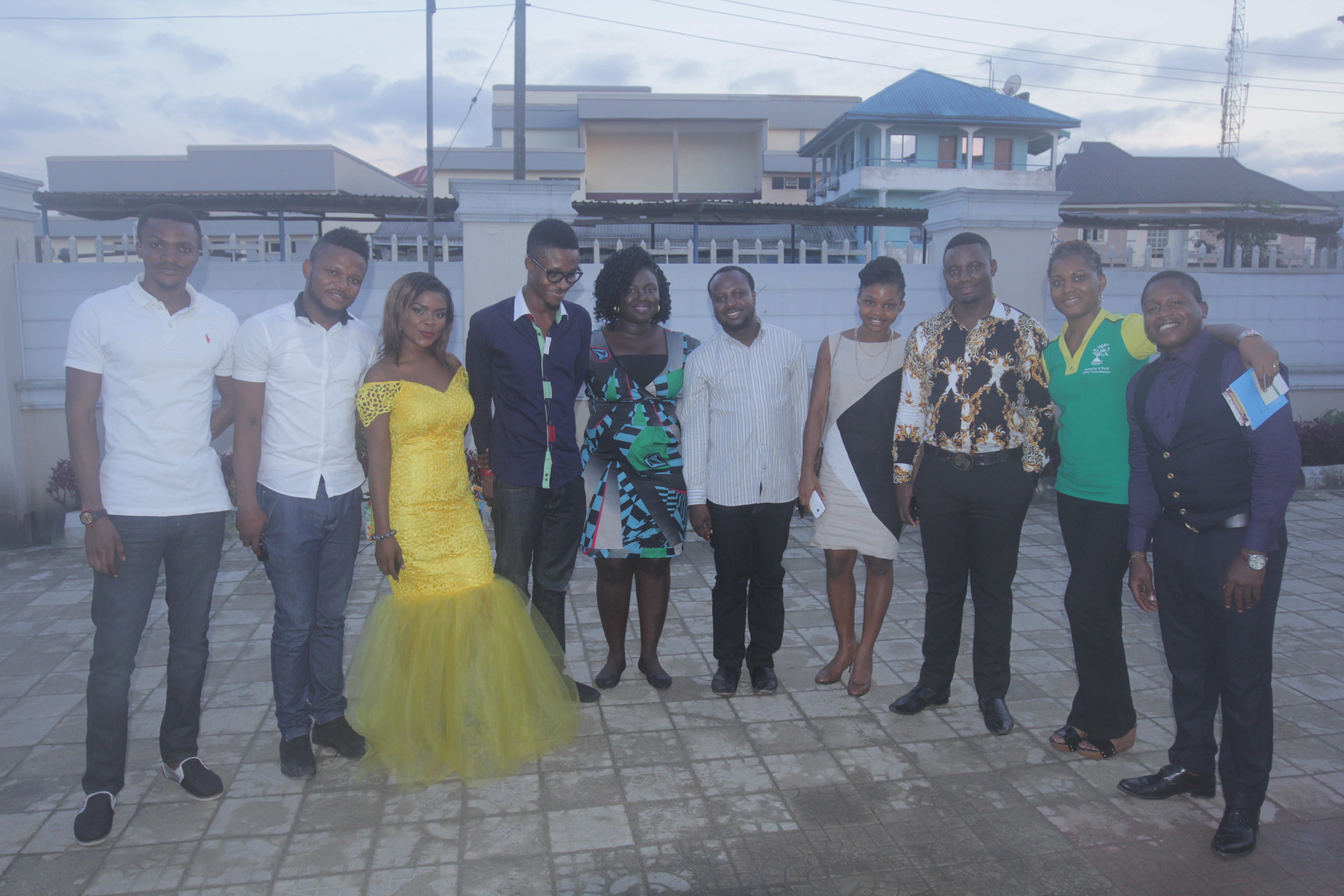 Executive Director, AYEP with TFAA Team and founding membrs of the Portharcourt Hub