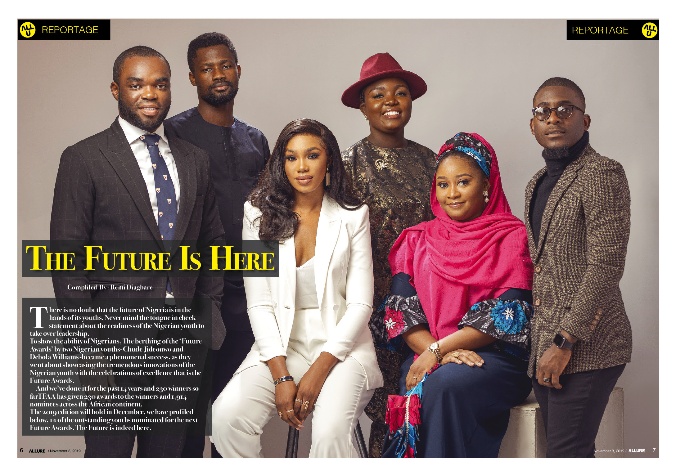 THE FUTURE AWARDS AFRICA 2019 Nominees