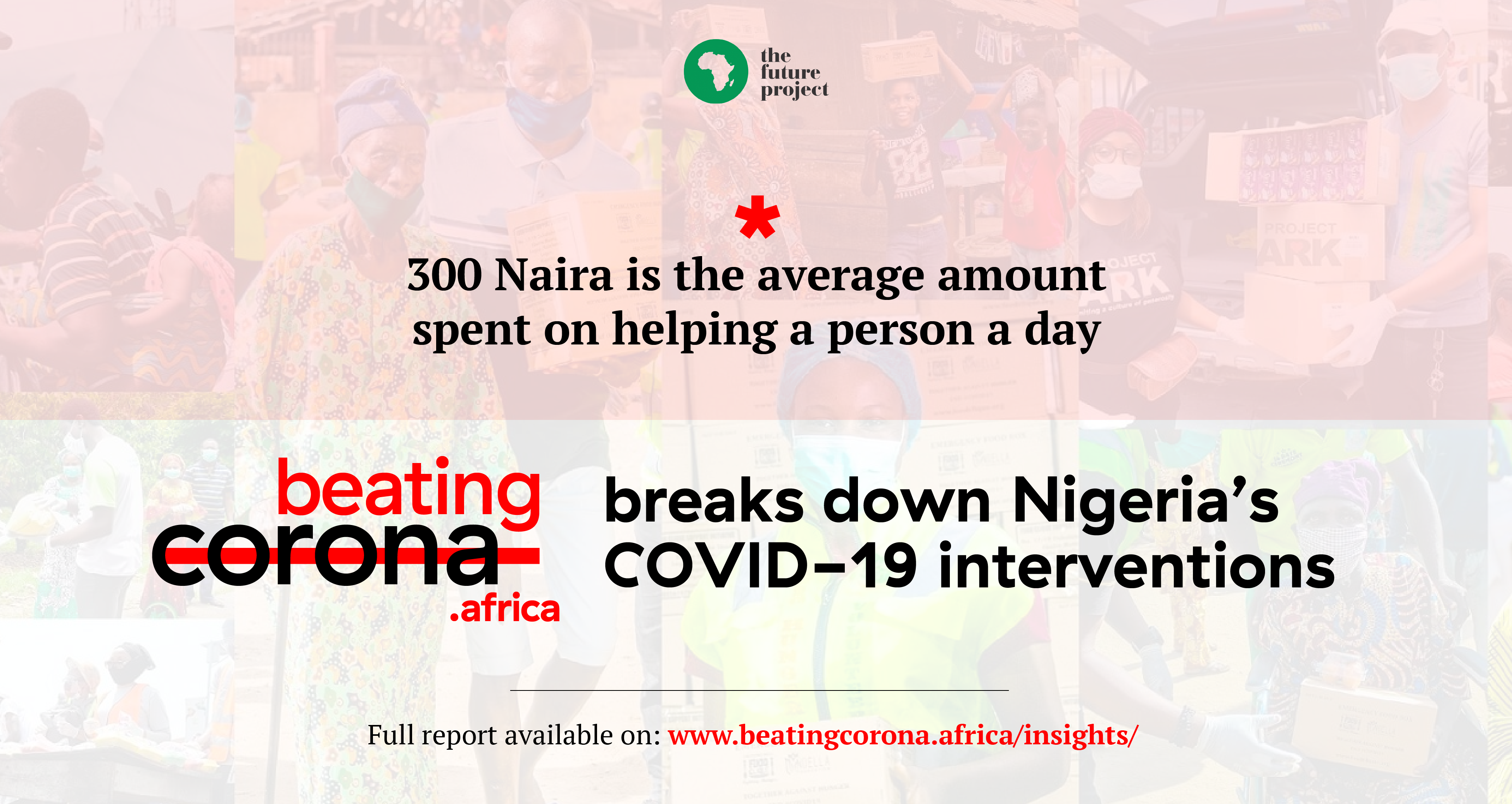 300 Naira is the average amount spent on helping a person a day – BeatingCoronaAfrica breaks down Nigeria's COVID-19 interventions.
